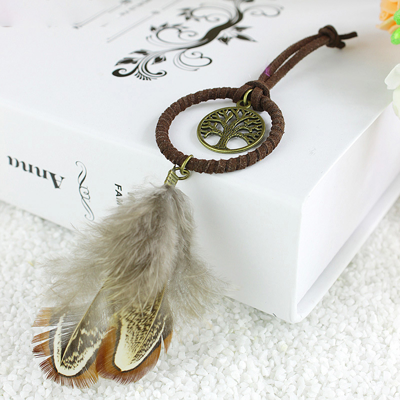 APHACATOP Key ring key pendant indian feather dream catchers Dream Catcher