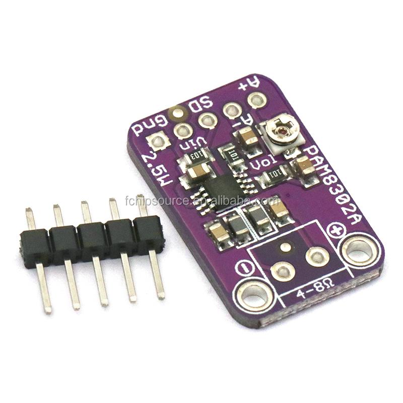 Amplifier Parts & Components PAM8302 2.5W D-Class Audio Power Mono ...