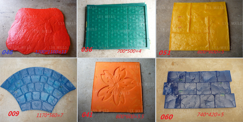 Stamped Concrete Mats Wall Concrete Stamp Moulds Buy