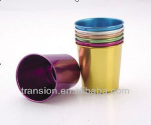 9oz color Aluminum Mug,Anodized in Colourful