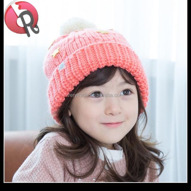 e92d15df932 baby boy girls  cute deer horn red grey knitted hat cap fleece pattern