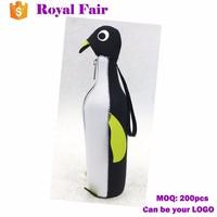 2017 Animal Shape Wine Cooler Neoprene Beer Bottle Cooler