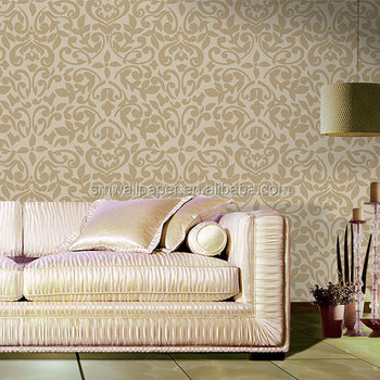 Precast foam cement wall panel waterproof wallcoverings for 3d wallpaper for living room india