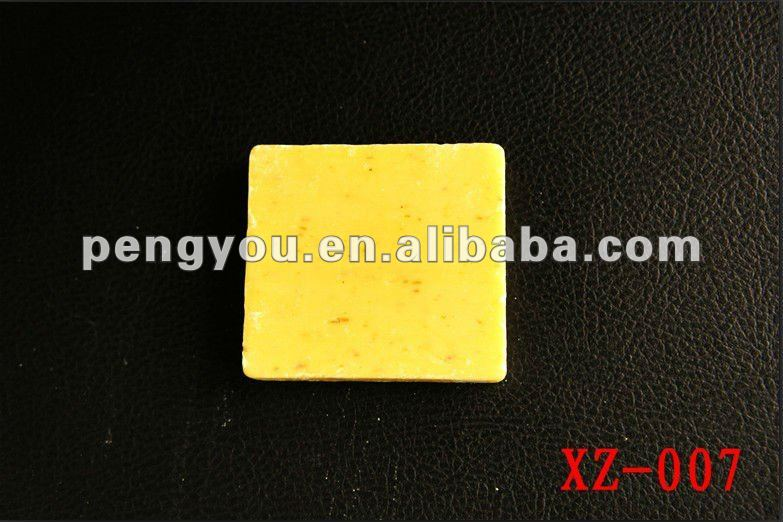 fashion hot selling good smell with lemon perfume soap