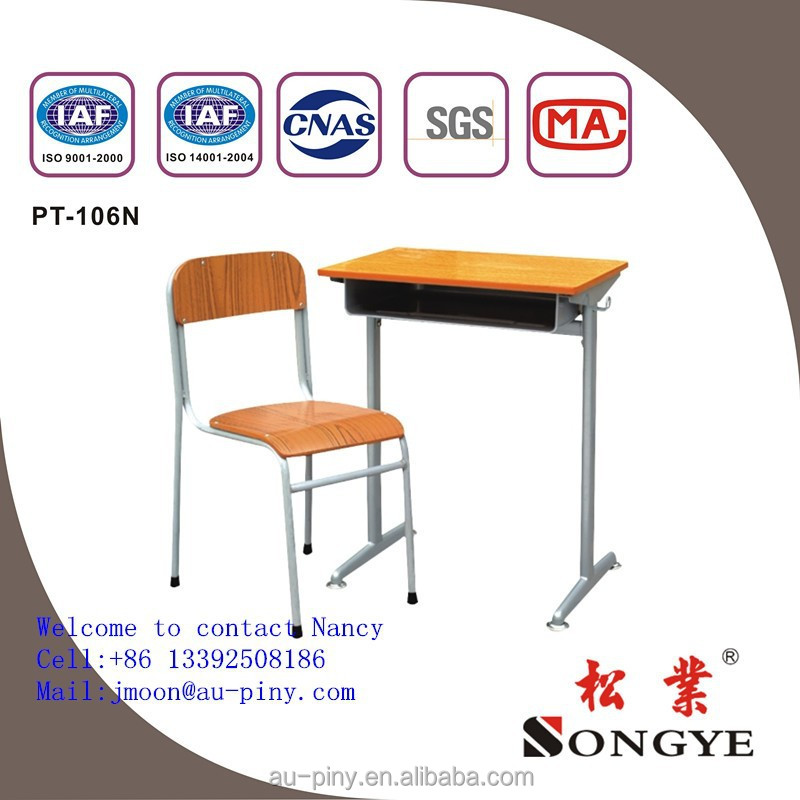 Conference chair/lecture chair/foldable ladder chairschool furniture,double student table and chair,school desk and chair