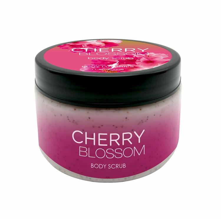 Brand nice fragrance organic body scrub for women
