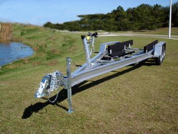 deux essieu remorque bateau en aluminium avec frein buy en aluminium bateau remorque. Black Bedroom Furniture Sets. Home Design Ideas