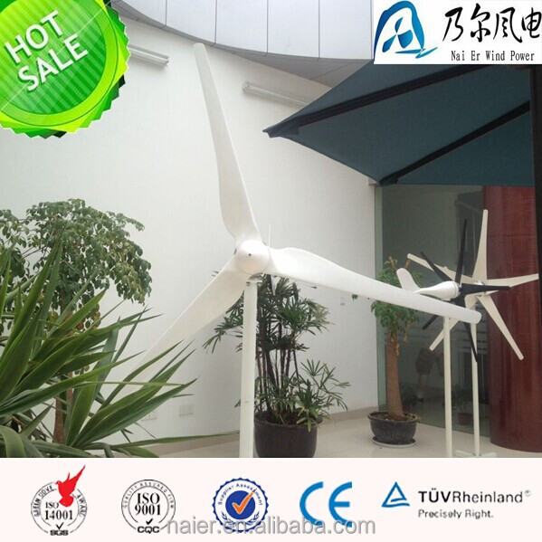 1500W wind generator system turbine wind mill power