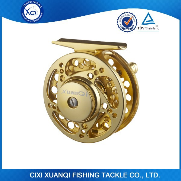 In stock size 7/8 95mm CNC machine fly reel for fishing reel export factory