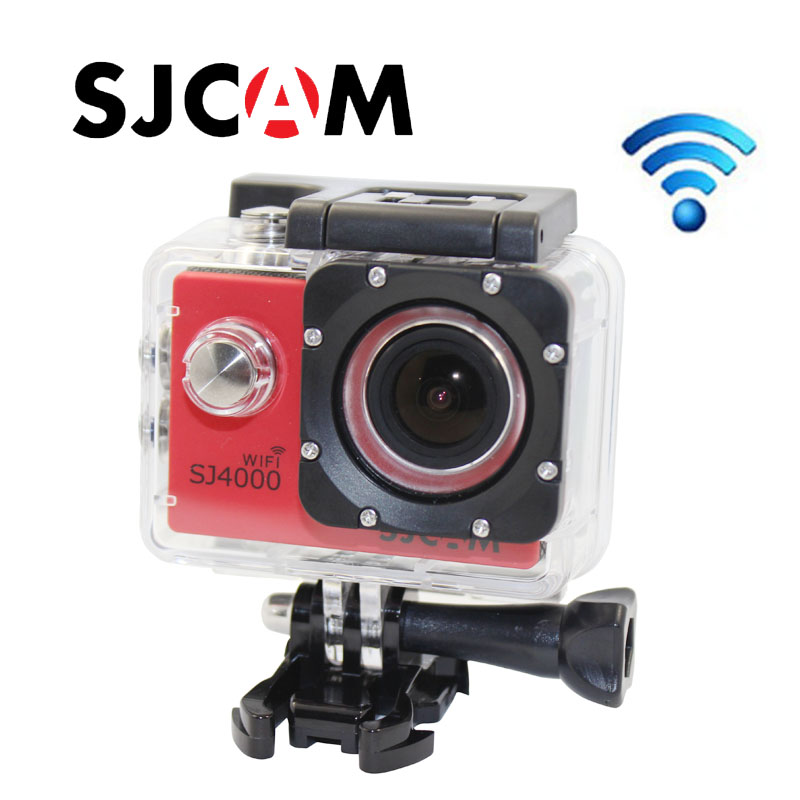 Free shipping!!Original SJ4000 WIFI Diving 30M Waterproof extreme Helmet Cam G-Senor Sport Action Cam
