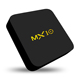 Streaming Media Player MX10 Android 7.1 TV Box 4GB + 32GB Smart 4K TV Box Support 2.4G Quad-Core Video Player