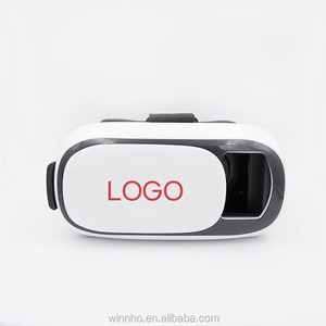 Custom branded 3d vr glasses headmount display vr headset for 3d games and movies