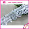 Alibaba China Wholesale Fancy Embroidery Garment White Scalloped Lace Trim