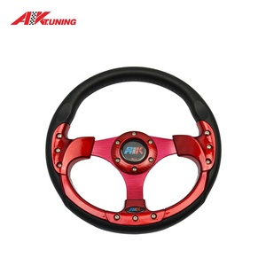 PU / Leather 320/350mm universal racing car sport steering wheel