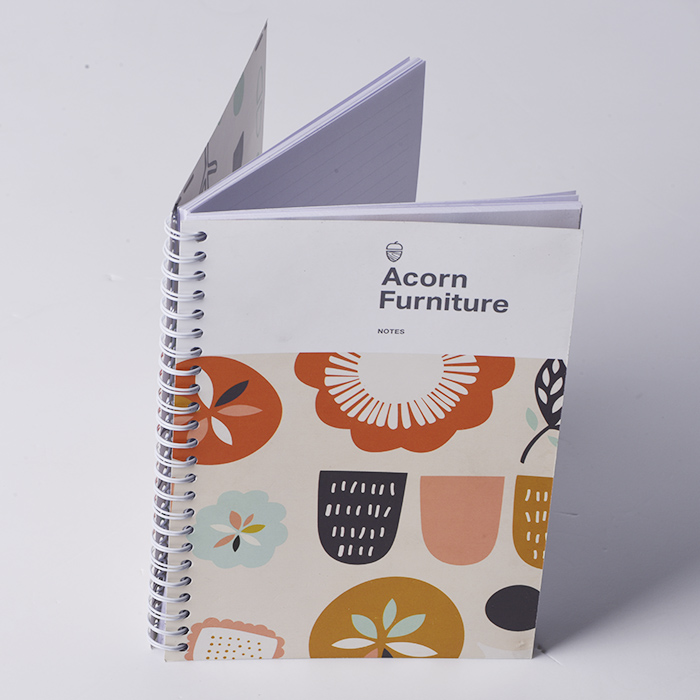 Custom Personalized Spiral YO Notebook Paper planner printing A4 A5