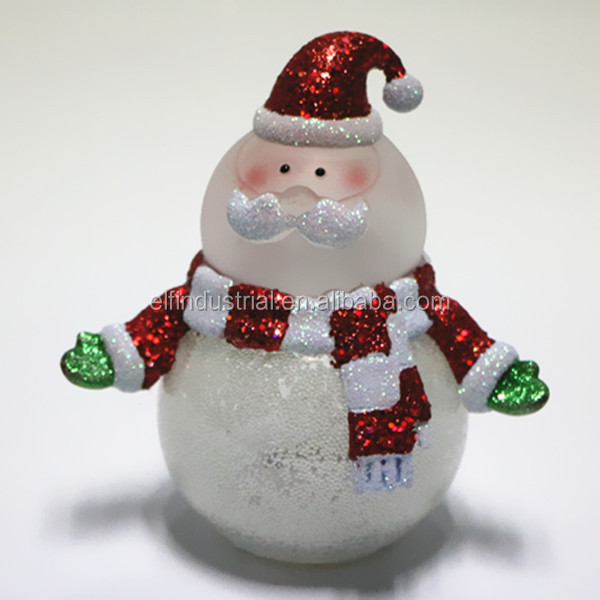 Plastic new product LED christmas decoration gift snowman supplies