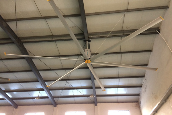 24FT HVLS industrial cooling ceiling fan
