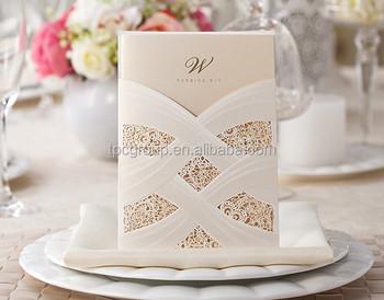 Latest White Lace Usa Design Wedding Invitation Cards Buy Wedding