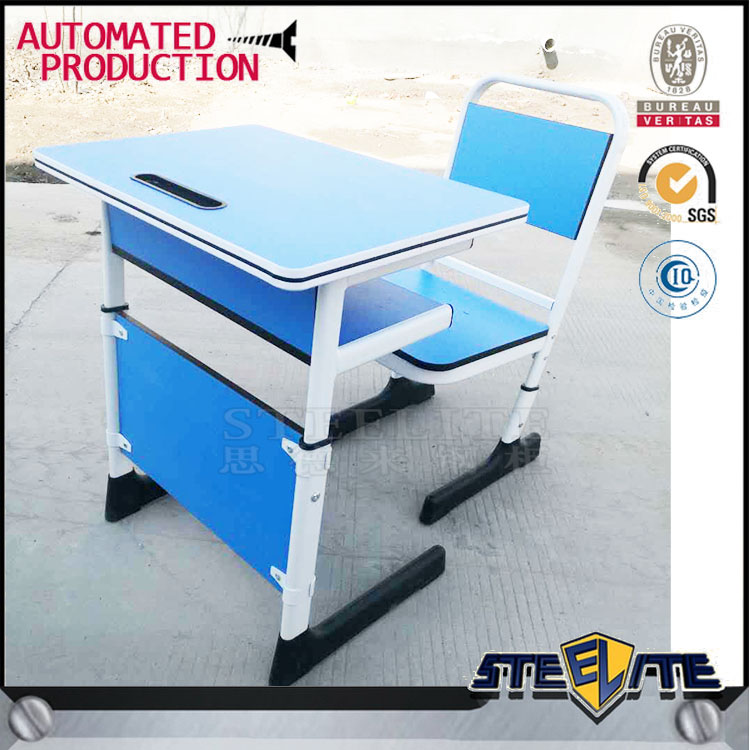 Children Adjustable Height Study Writing Desk Kids Writing Study Table And Chair For Primary School