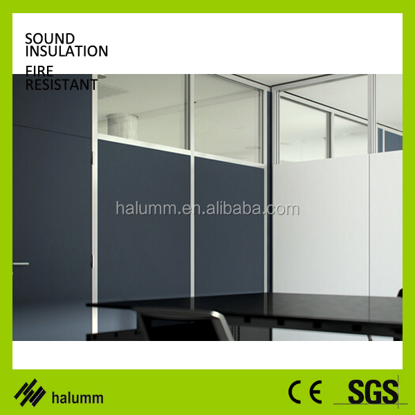 Office Furniture Modular Glass Workstation Fabric Panel Structure