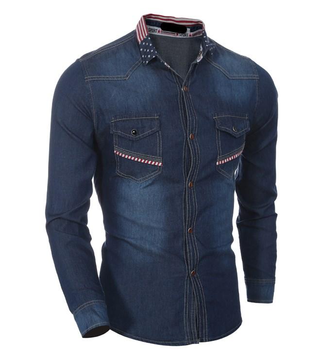 पुरुषों की फैशन पंत जींस थोक आकस्मिक शर्ट डिजाइन