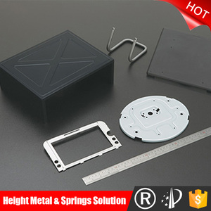 China Custom large stamping parts, Metal Stamping custom part / fabricated steel parts