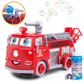 Fire Truck With Bubble Blower Lights & Sounds Juguetes Toy Best Christmas  Gift Toy For Kids - Buy Fire Truck,Bubble Blower,Juguetes Product on