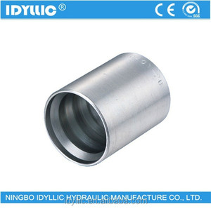hydraulic ferrule/sleeve 00401 for spiral hose