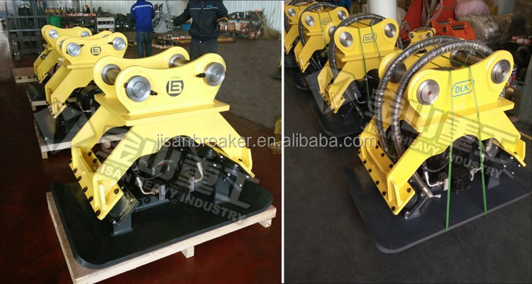 High quality Excavator used hydraulic vibrating Soil Compactor Plate for sale