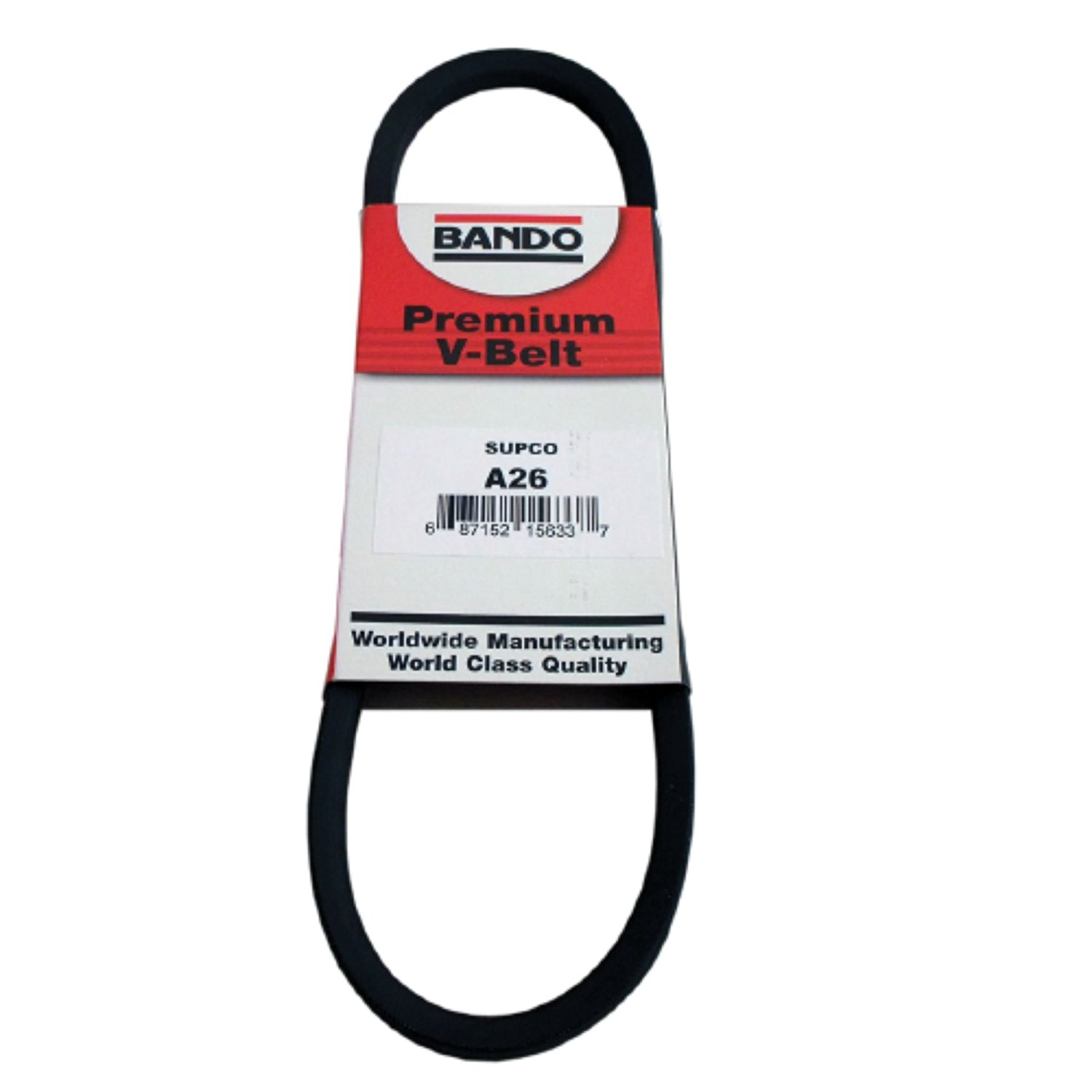 BANDO 6PK1040 Serpentine Belt-Rib Ace Precision Engineered V-Ribbed Belt