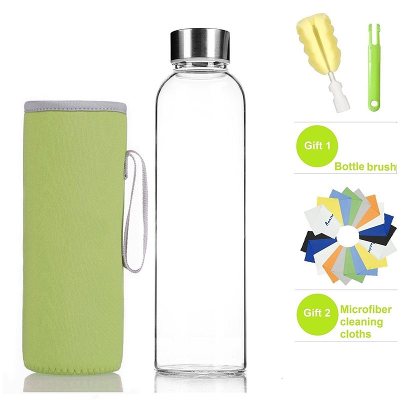 Portable Neoprene Insulated Water Drink Bottle Cooler Carrier Cover Sleeve Tote Bag for Kid Children Women Men