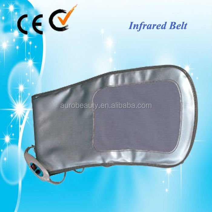 infrared vibration belt massage belly fat reducing machine for slimming AU-804