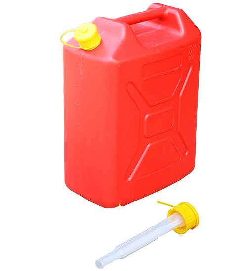 5 Gallon Jeep Stile Carburante di Plastica Può 20 Litro Anti-statica HDPE Jerry Può