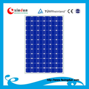 High performance solar home system 5kw water hearting system
