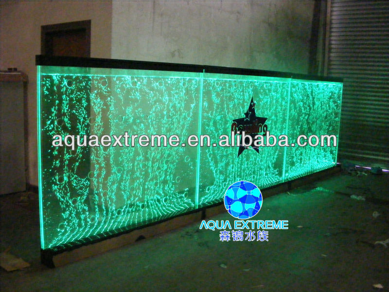 Dancing Water Bubble Wall Panel With Led Light For Hotel & Home Decoration  - Buy Water Bubble Wall,Room Divider,Room Screen Product on Alibaba com
