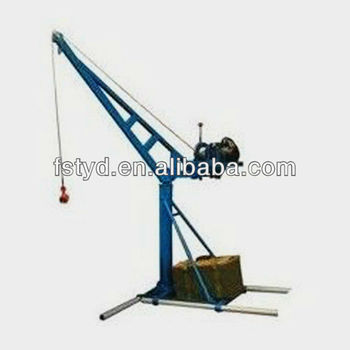 China Supplier Mini Lifting Mobile Crane/boat Hoisting Cranes/boat ...