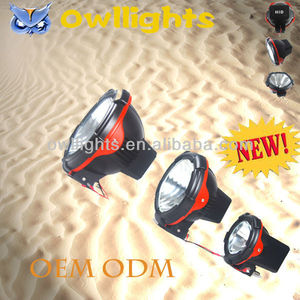 "75w/12V 7"" HID Xenon SpotLight,Working light for Truck/SUV /Mine, Off-road HID work lamp,3%~6% Discount for 200pcs"
