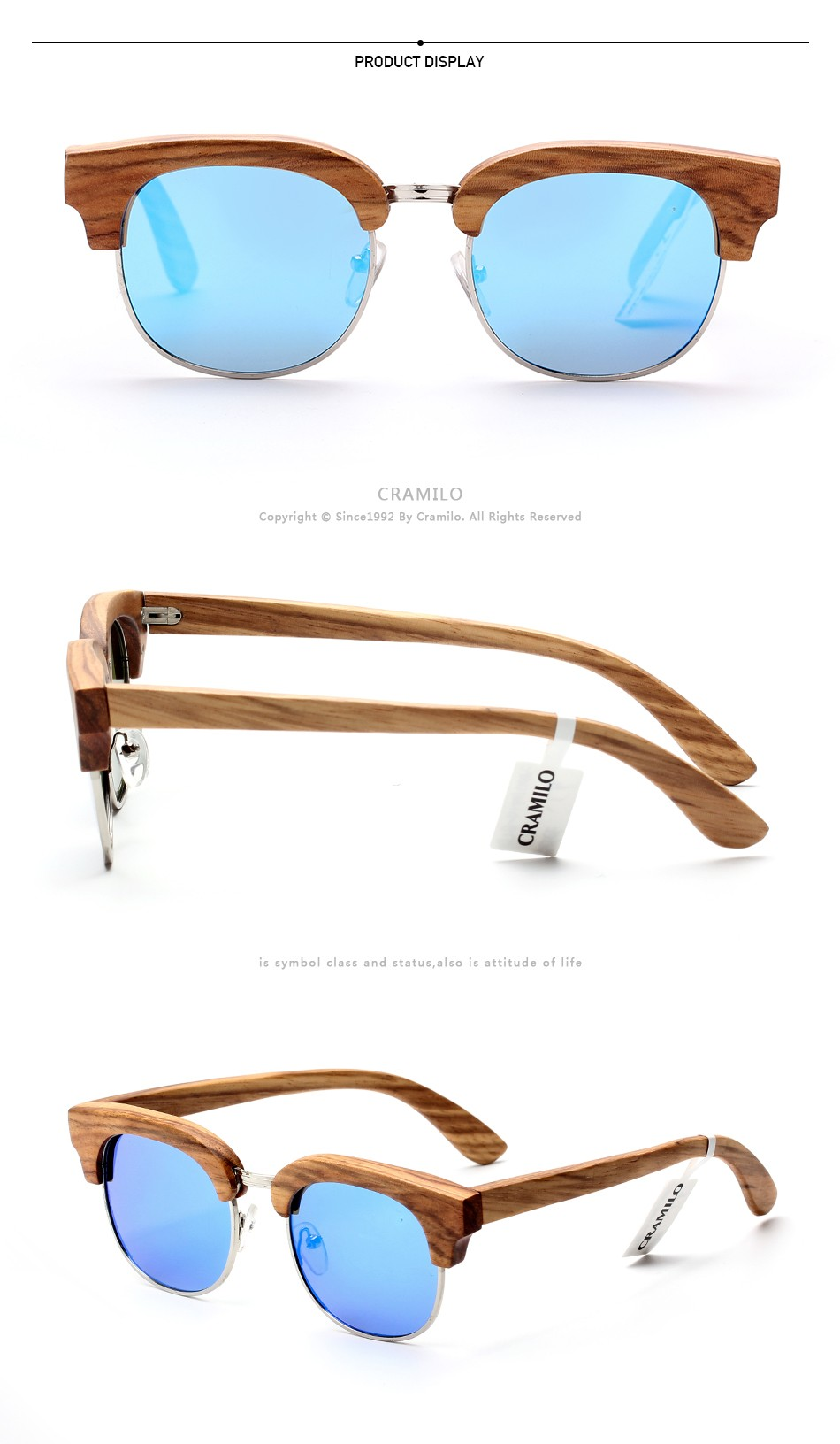 3am10014 Cheap Bulk Bamboo Polarized Wooden Eyeglasses Frames - Buy ...