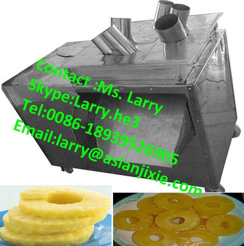 apple slicer machine/pineapple slicing cutter/automatic pineapple slicer