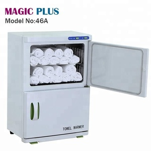 Good quality double layer towel warmer and uv sterilizer for salon use