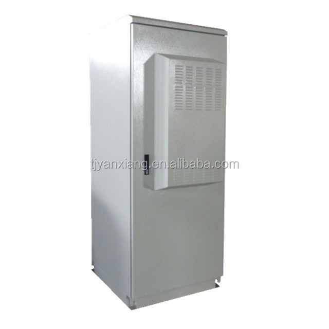 "Gold exporter ip55 outdoor telecom enclosure/42U 19"" equipment rack cabinet with air conditioner/SK-366 locking case shelter"