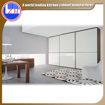 Modern Bedroom Wardrobe 3 Track Sliding Closet Door Buy Bedroom