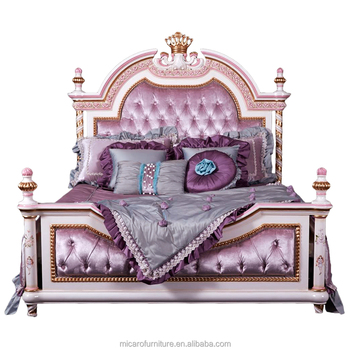 Leq001a Königlichen Europäischen Stil Massivholz Kinder Bett ...