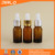 5ml 10ml 15ml 30ml amber color essential oil glass dropper bottle with glass pipette dropper
