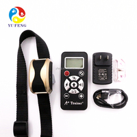 Hot shock dog collar remote control (800 yards) w/ 4 Training Modes & 7 Simulation Levels dog training anti dog bark collar