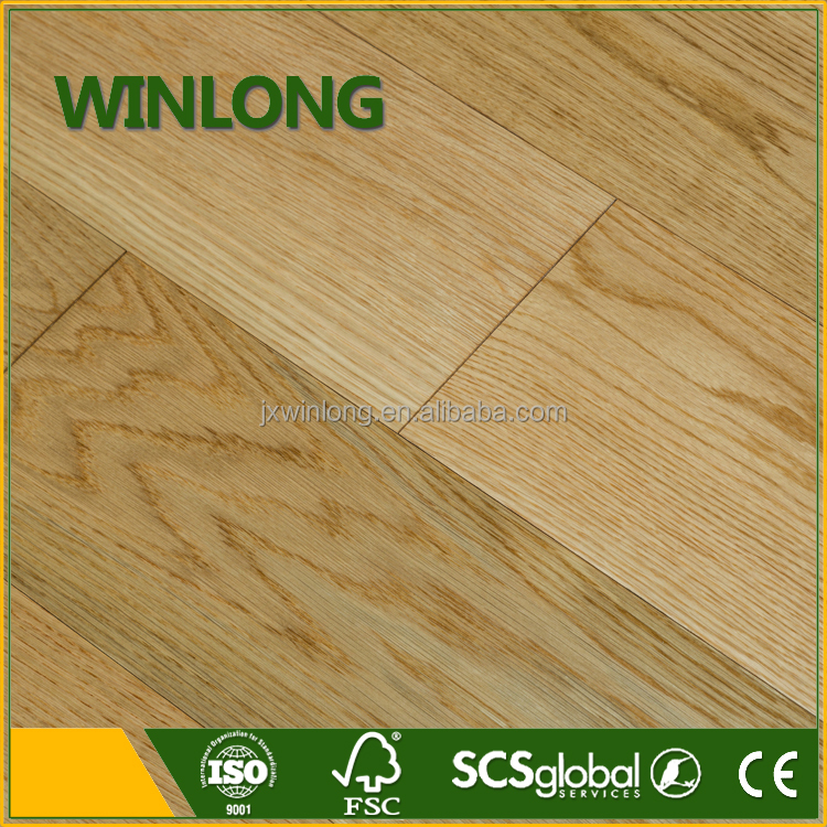 5mm venner white oak engineered wood flooring for home decoration