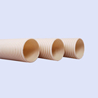 6 inch flexible sewer round plastic water lightweight pvc pipe