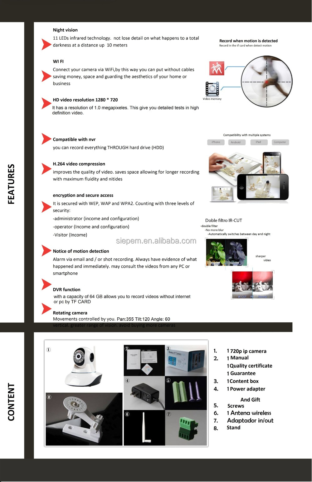 Low Price Best Sell Tv Hd 720p Ip Camera/vandal H 264 Hd 720p Ip Camera/udp  Viewer Frame Mode Ip Camera Megapixel - Buy Viewer Frame Mode Ip Camera
