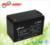 <MUST Solar>High Quality Sealed Lead Acid battery 12v 7Ah for LED light, Emergency light