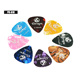 factory price custom brand low celluloid guitar picks plectrum